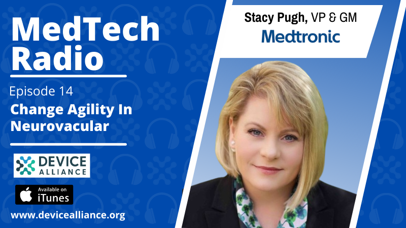 Stacey Pugh: Change Agility in Neurovascular | Ep.14