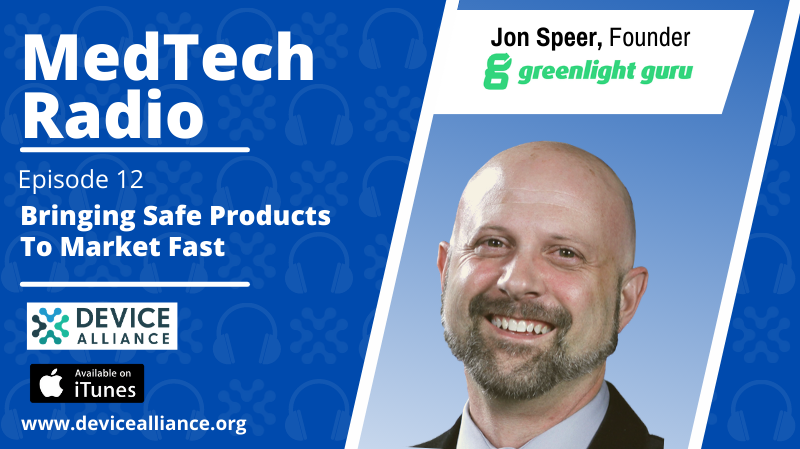 Jon Speer: Bringing Safe Products to Market Fast   Ep.12