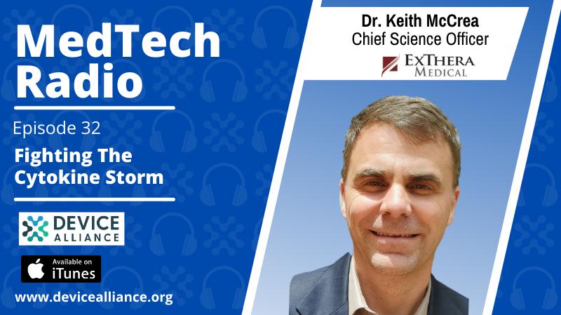 Dr. Keith McCrea: Fighting the Cytokine Storm   Ep.32