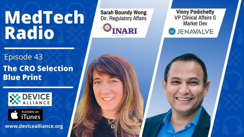 Sarah Boundy Wong & Vinny Podichetty: The CRO Selection Blueprint | Ep.43